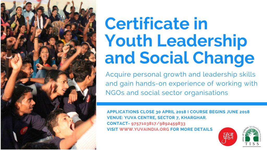 Certificate Course In Youth Leadership And Social Change